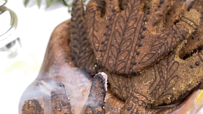 Mudras Incense Hands