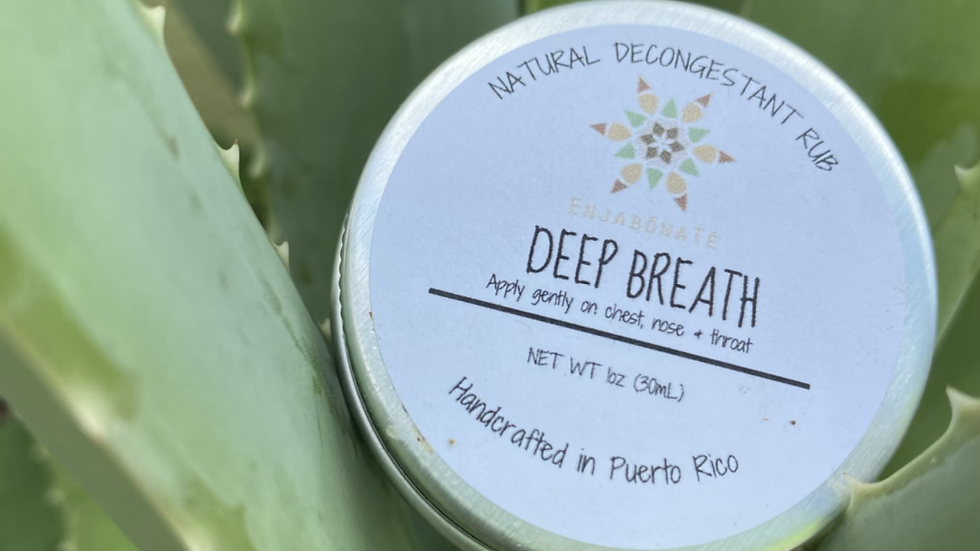 Deep Breath - Natural Descongestant Rub
