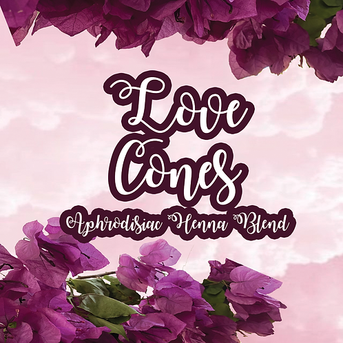 Love Cones 💗 (Aphrodisiac Henna Blend)