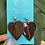 Thumbnail: Pétalos earrings by Hearts Ceramics