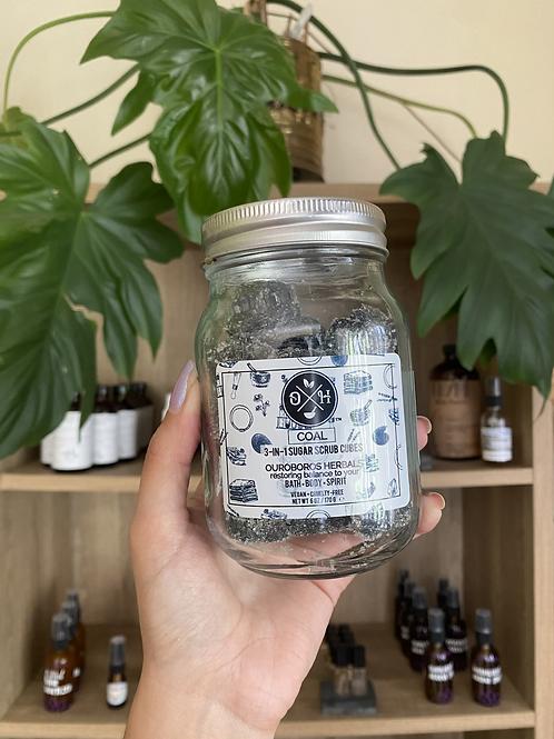 Coal Srub   Ouroboro Herbals