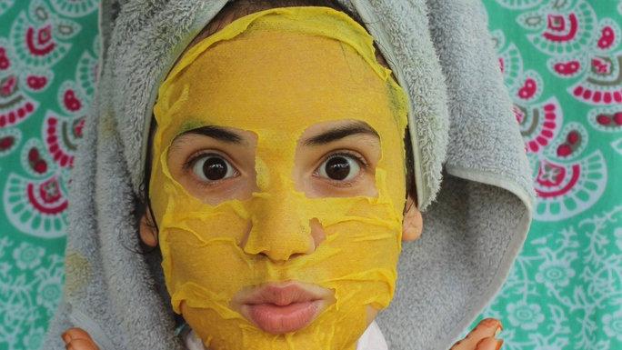 Face Mask: Golden Milk
