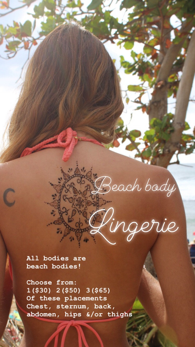 Beach Body Lingerie