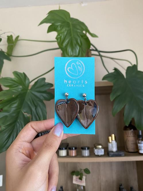 Pétalos earrings by Hearts Ceramics
