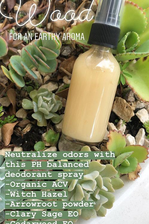 Wood Desodorante en Spray