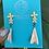 Thumbnail: Hojita heart earrings by Hearts Ceramics