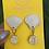 Thumbnail: Seashell earrings by Hearts Ceramics
