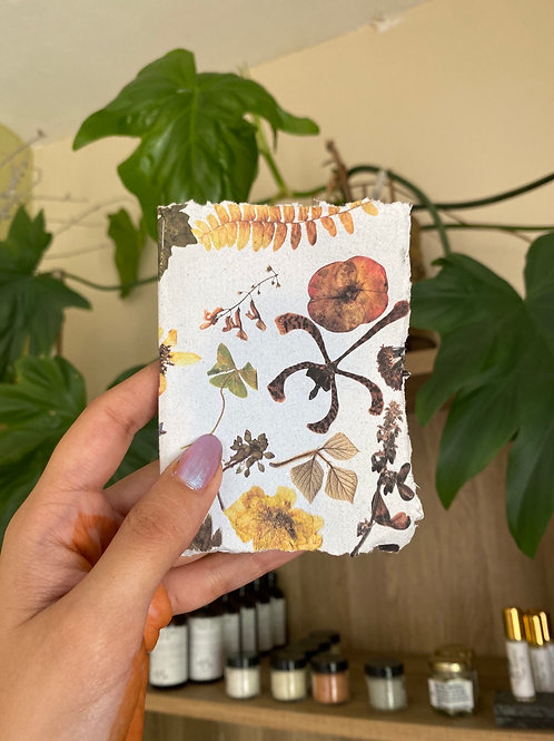 Recycled paper Instax mini photo album by Papers & Flowers