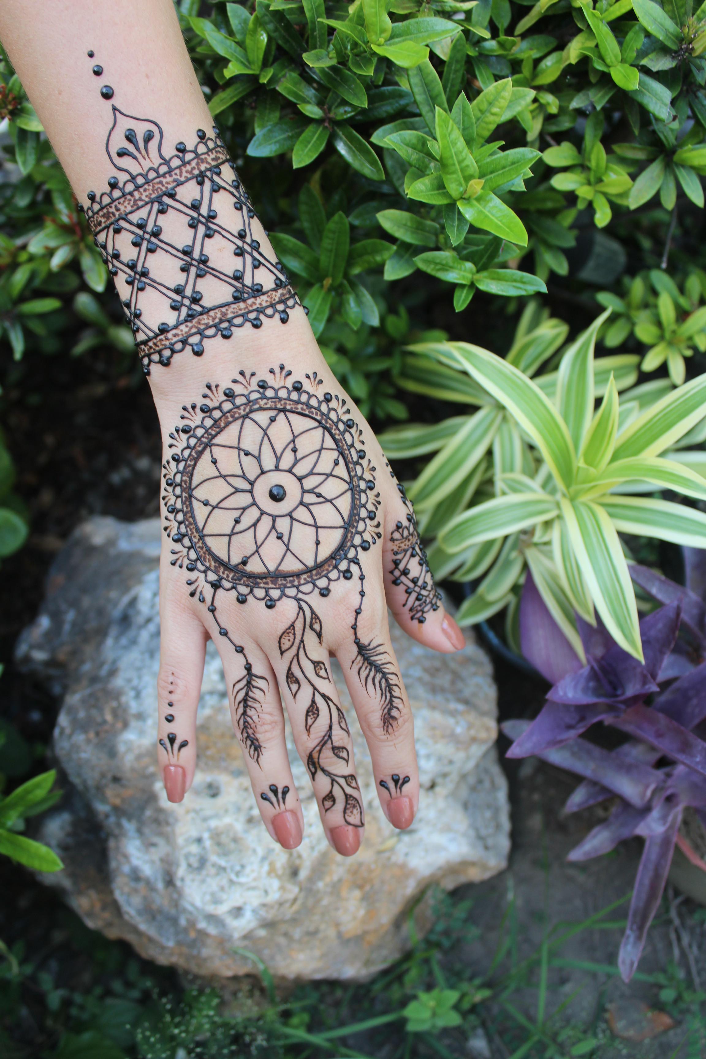 Medium Henna Session