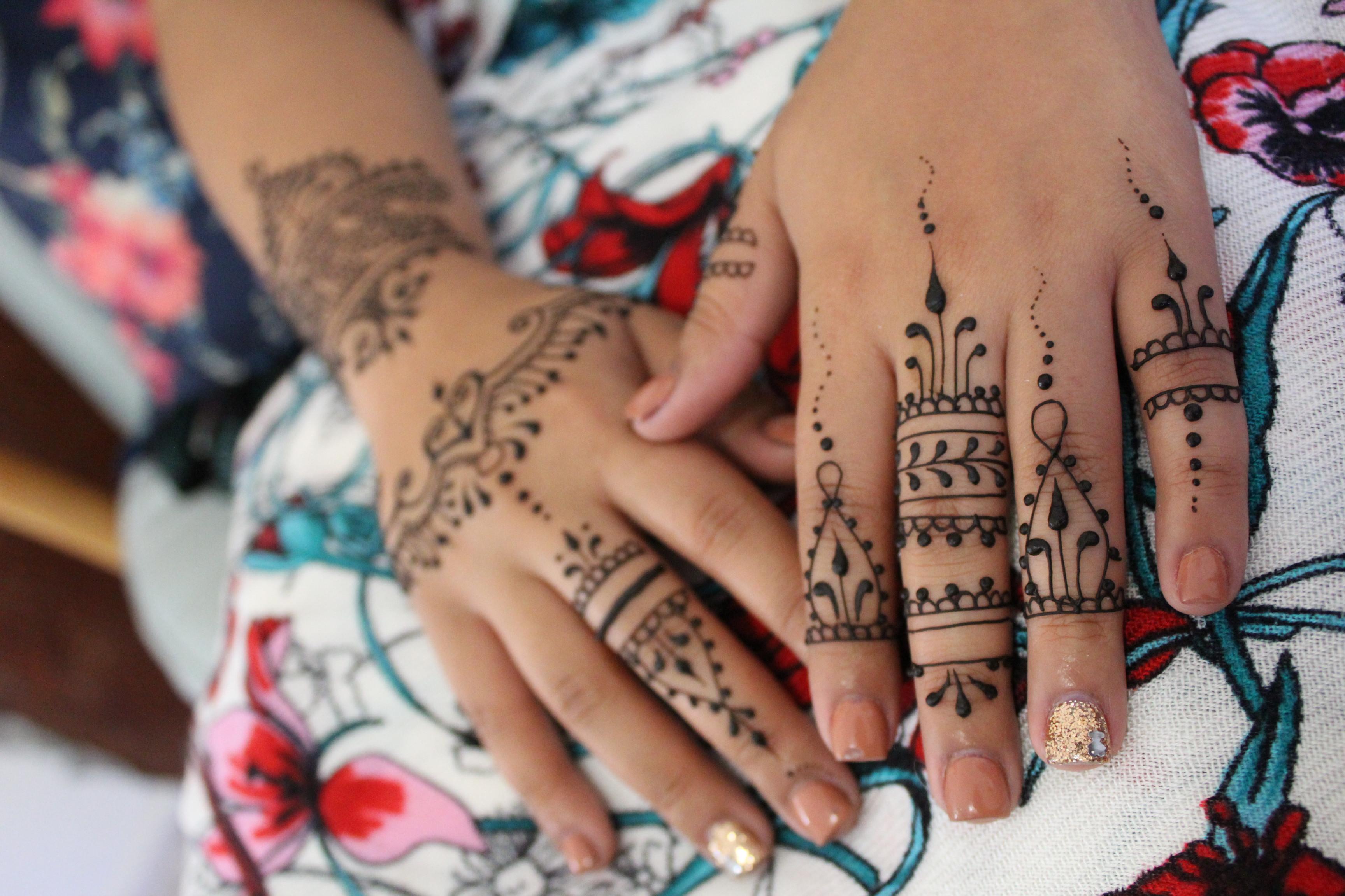 Simple Henna Session