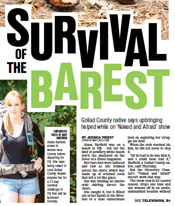Survival of the barest