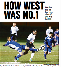 How West was No. 1