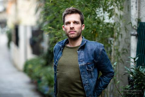 Portrait Homme - Photographe Paris