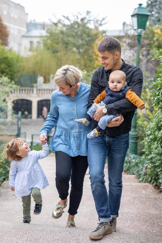 Séance en Famille - Photographe Paris