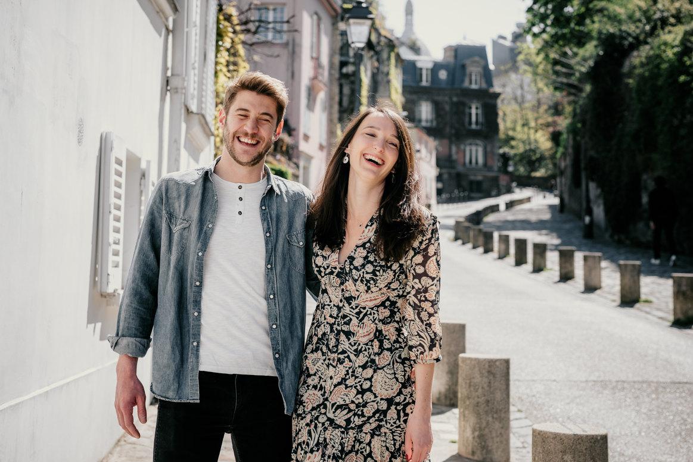 Séance photo couple Paris