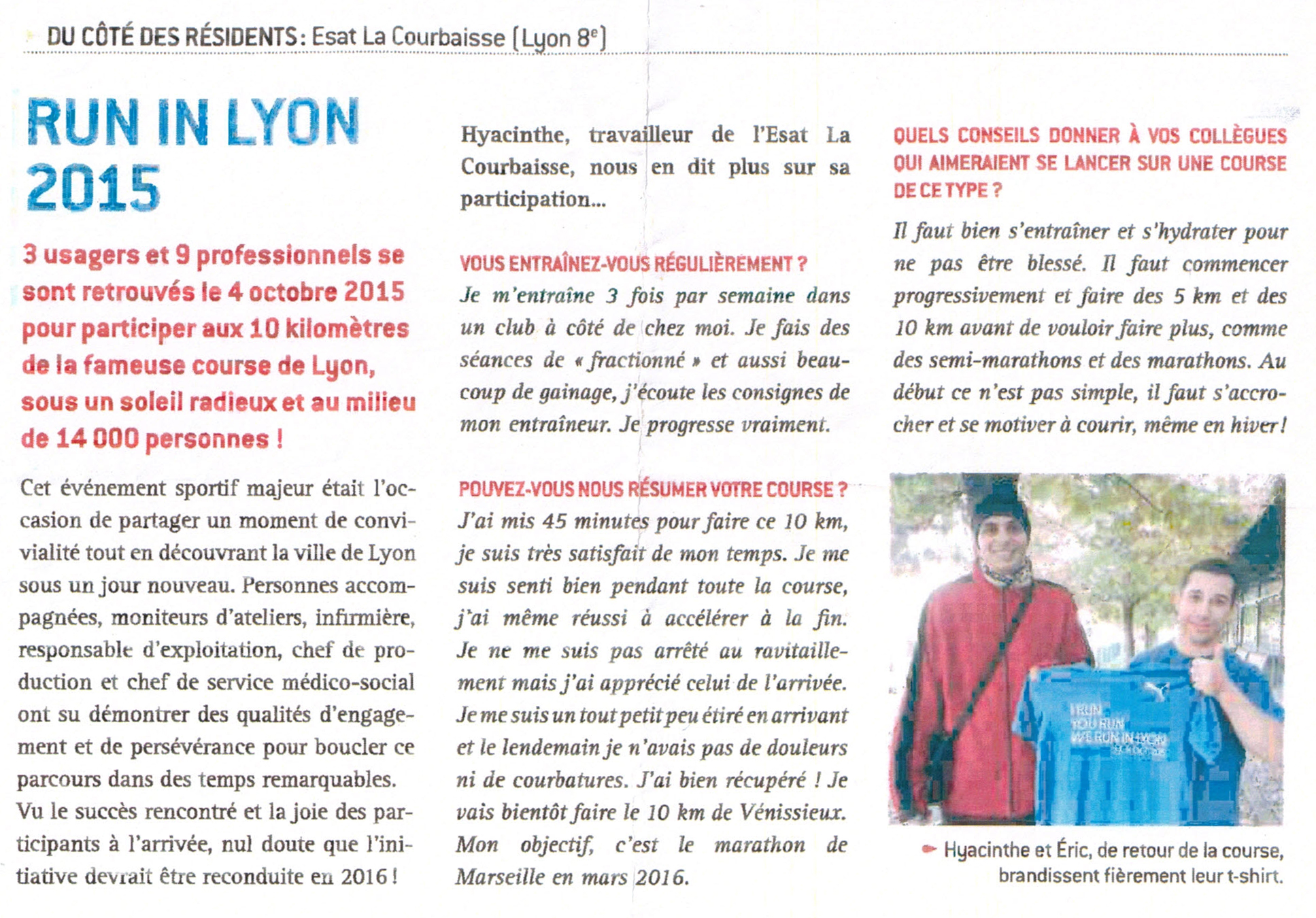 Hyacinthe - run in lyon