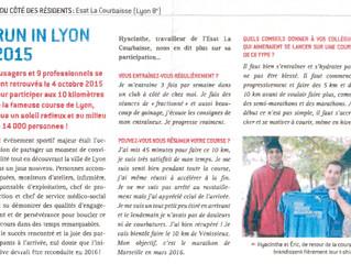 Interview de Hyacinthe au Esat la courbaisse sur le Run In Lyon 2015