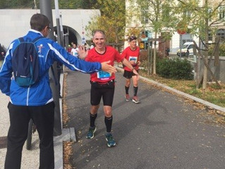 Mon premier Marathon.