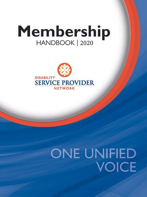 Membership Handbook - Full Page Ad