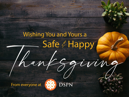 From Everyone At DSPN: