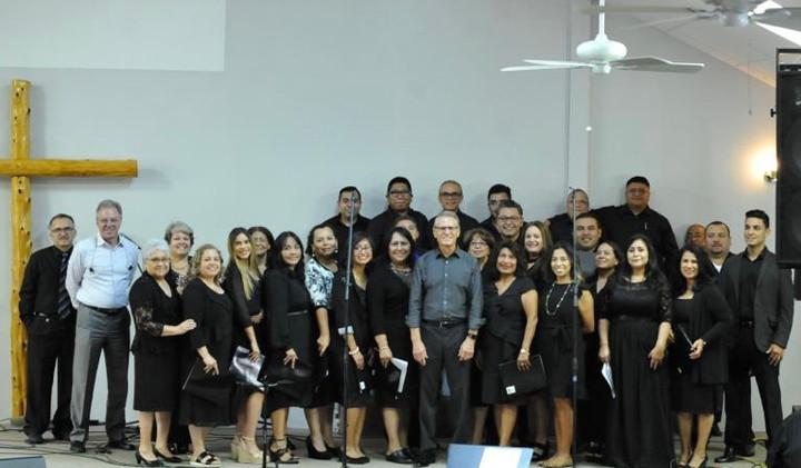 Coro El Buen Pastor listos para el Concierto