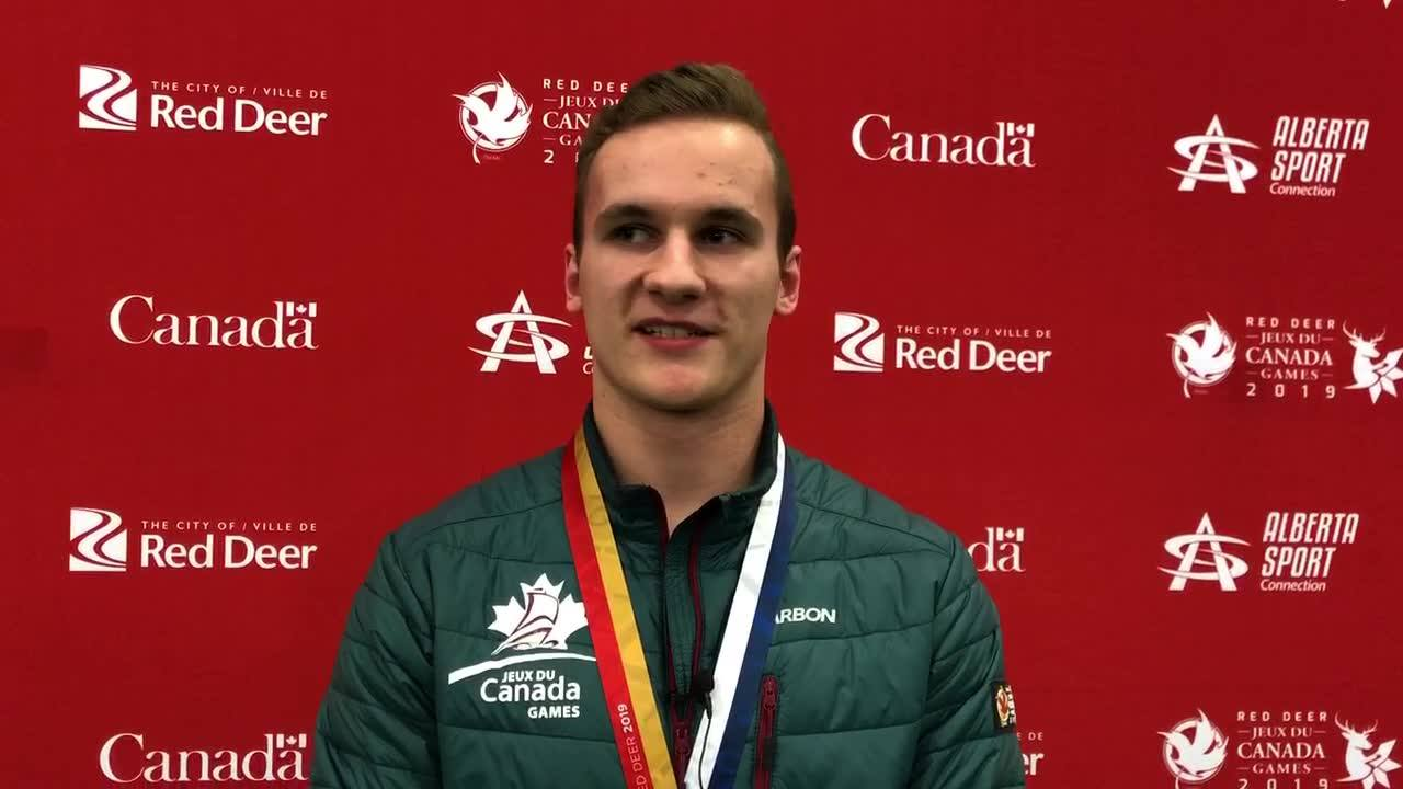 Cameron MacMaster on the Canada Games