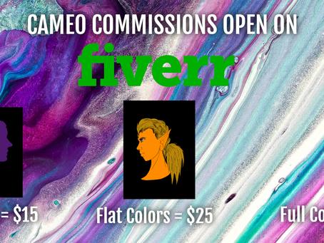 ART COMMISSIONS OPEN!