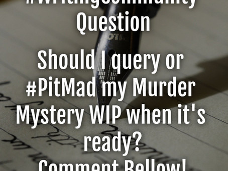 Should I Query or #PitMad?