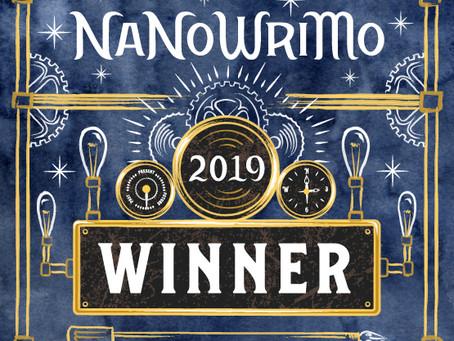 I WON NANOWRIMO!!!