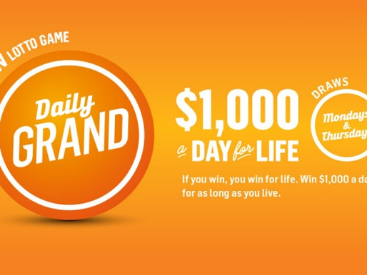 Daily Grand Lottery Numbers