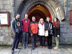 It was such a fun walking tour of Galway city that this family from Ireland, Canada, USA and UK came back for a second Galway Walking Tour with Galway Tour Guide, Brian Nolan, in 2014