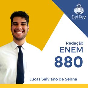 Destaques no #ENEM2020: Lucas Salviano de Senna