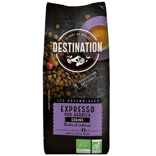 CAFE EN GRAIN EXPRESSO - 100% ARABICA - 500 Gr