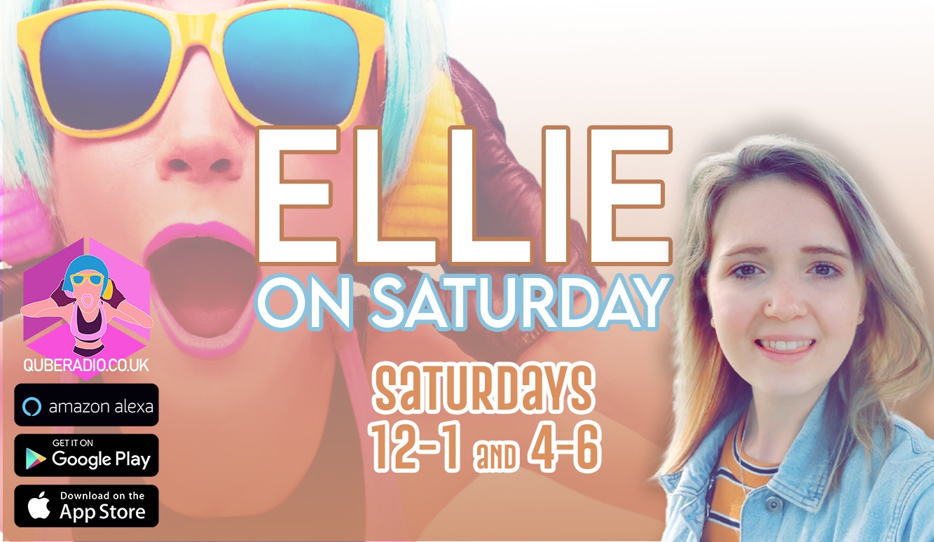 Ellie joins you at lunch time for her Saturday show