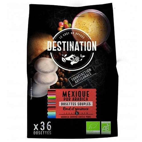 CAFE DOSETTE SOUPLE MEXIQUE - 100% ARABICA