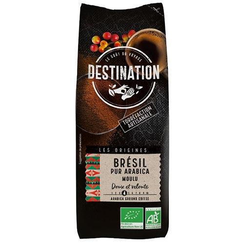 CAFE MOULU BRESIL - 100% PUR ARABICA - 250 Gr