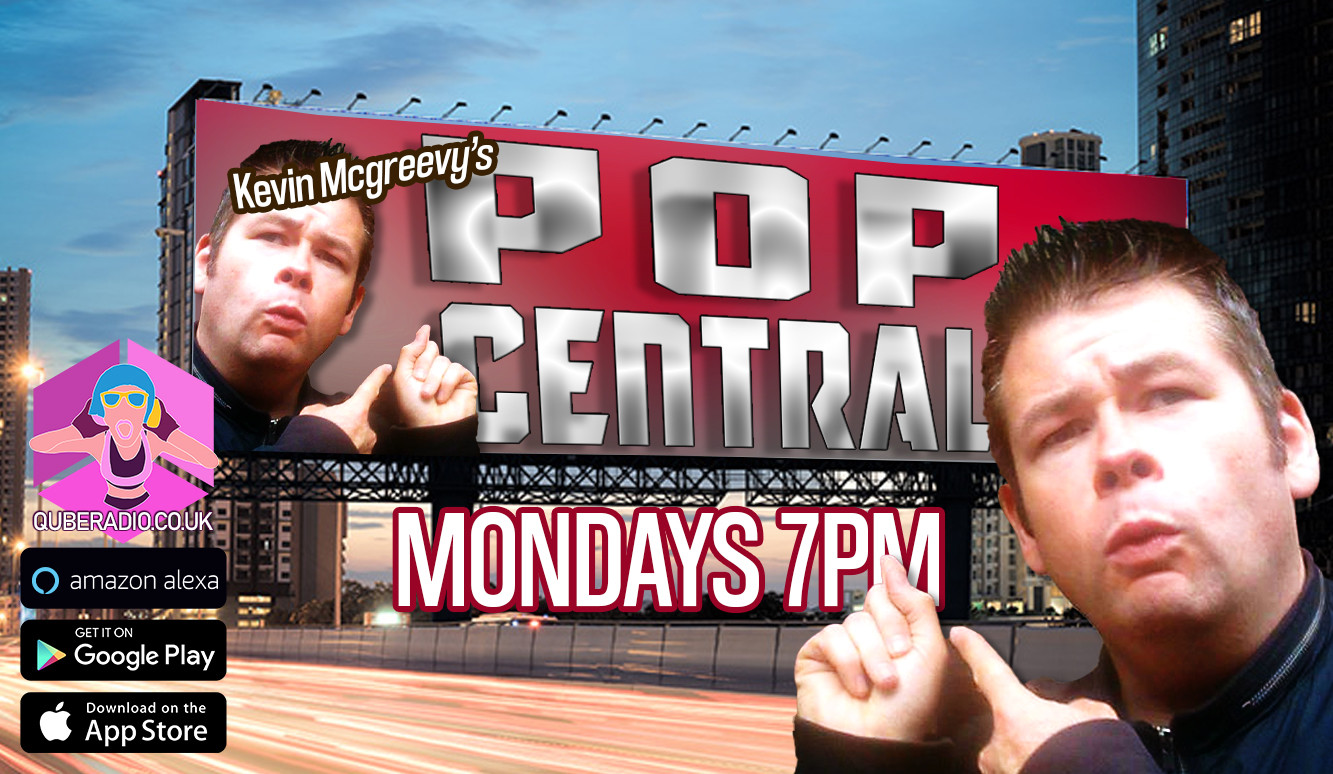 Pop Central host Kevin Mcgreevy plays the biggest pop hits from across the years.