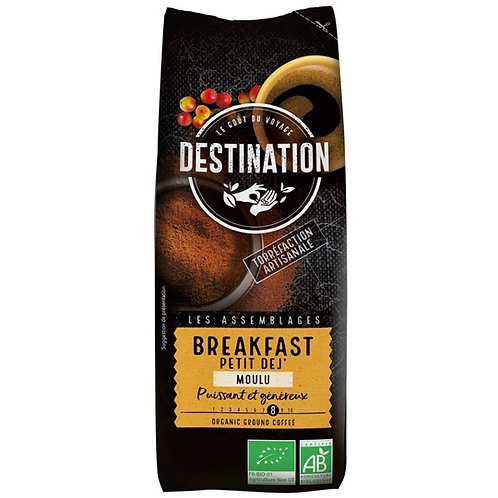 CAFE MOULU BREAKFAST  PETIT DEJ' - 250 Gr