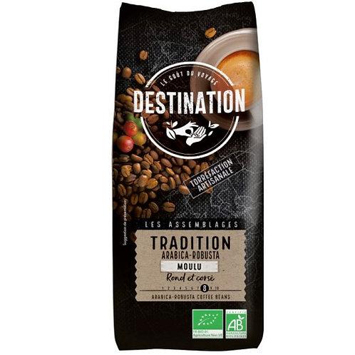 CAFE MOULU TRADITION - ARABICA / ROBUSTA - 250 Gr