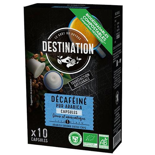 CAFE CAPSULES DECAFEINE - 100% PUR ARABICA