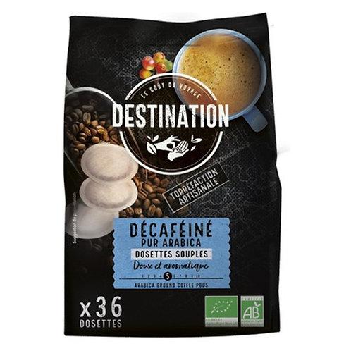 CAFE DOSETTE SOUPLE DECAFEINE - 100% ARABICA