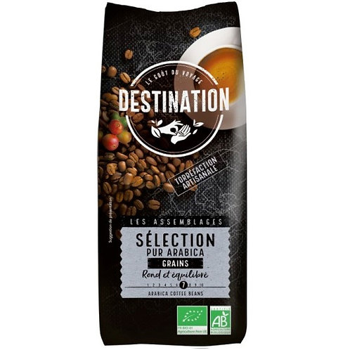 CAFE EN GRAIN SELECTION - 100% PUR ARABICA - 500 GR