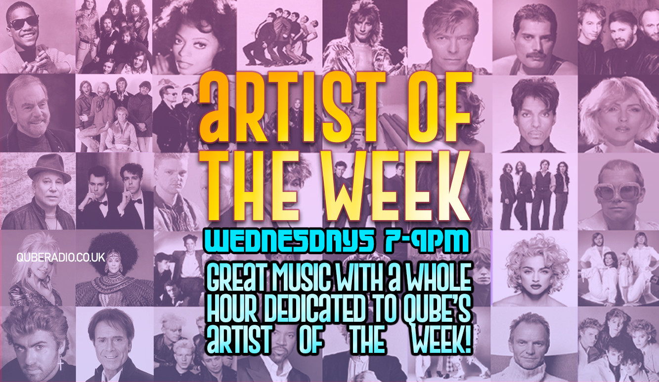 Every week, Qube selects one artist or band and plays one of their records in every show. On Wednesdays, a whole hour is dedicated to them!