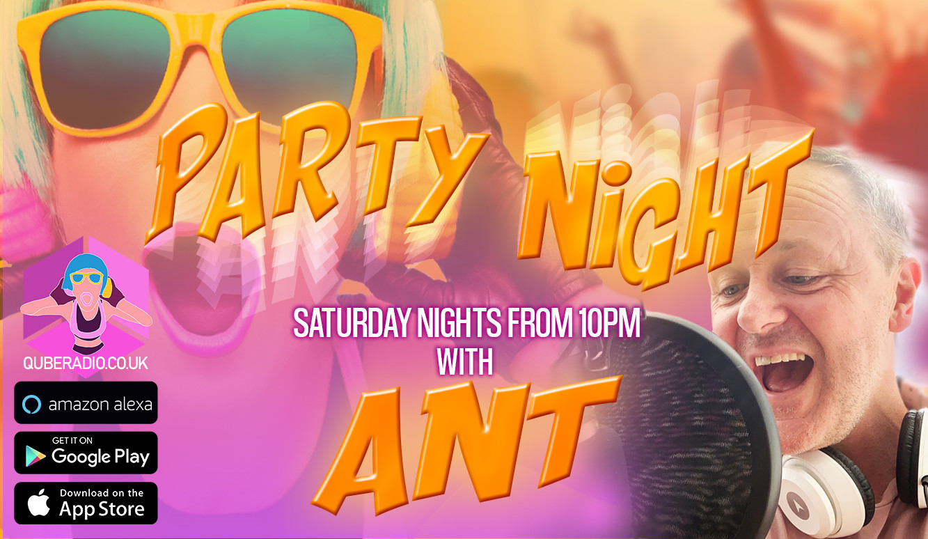 Saturday night and Ant returns for the party of the week!