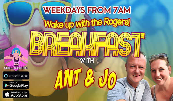 Ant and Jo present the Breakfast Show