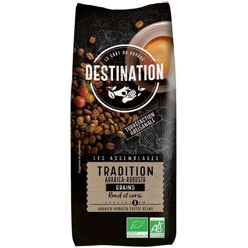 CAFE EN GRAIN TRADITION - ARABICA/ROBUSTA - 1 Kg