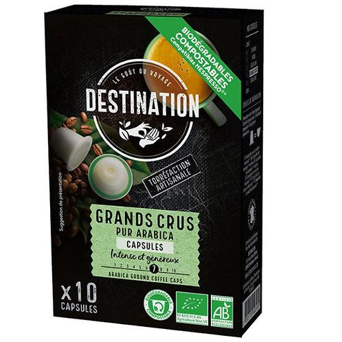 CAFE CAPSULES GRANDS CRUS - 100% PUR ARABICA