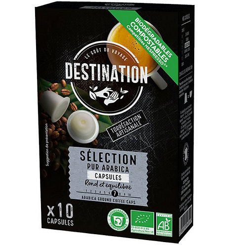 CAFE CAPSULES SELECTION - 100% PUR ARABICA