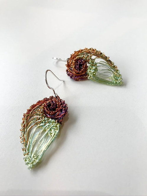 Autumnal Gold Earrings