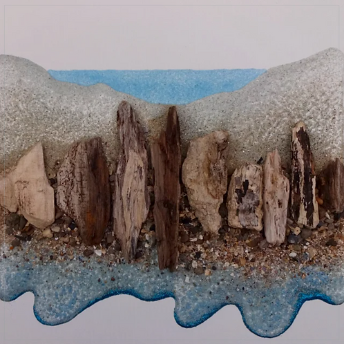 Driftwood Seascape